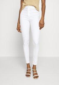 Topshop - JONI  - Jeans Skinny Fit - white - 0