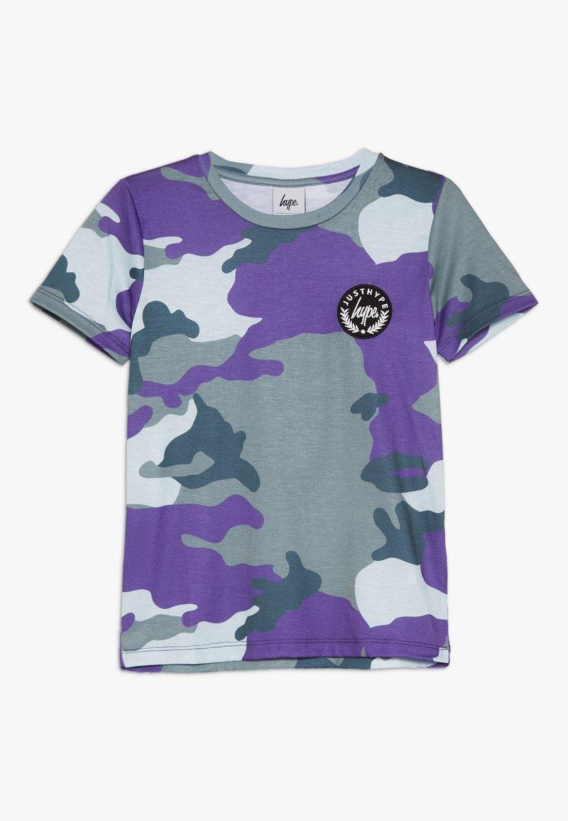 Hype - KIDS CAMO - T-Shirt print - forest/blue