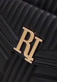 River Island - BRANDED TOTE - Tote bag - black - 3