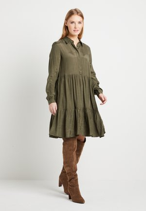 KADENIKE DRESS - Shirt dress - grape leaf