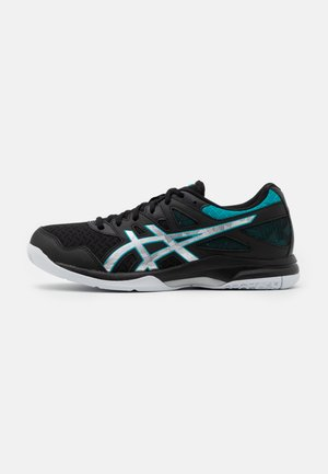 GEL-TASK 2 - Handball shoes - black/lagoon