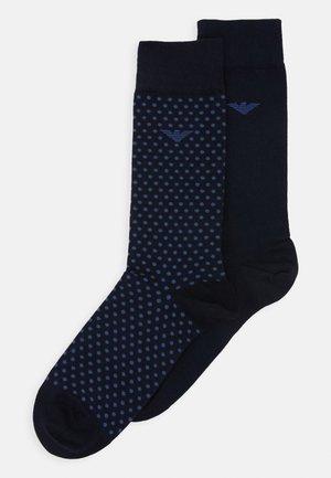 SHORT SOCKS 2 PACK - Socks - blu navy