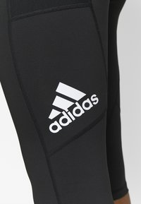 adidas Performance - 3/4 sportsbukser - black/white - 5