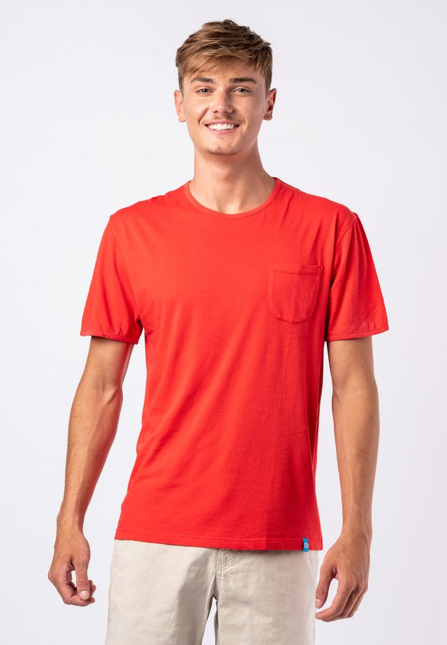 T-shirt basic - red
