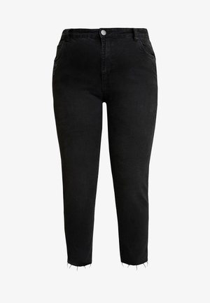 CURVE TAYLOR MOM - Relaxed fit jeans - black