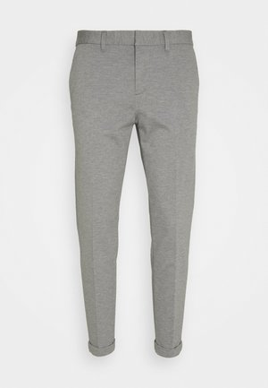 CROPPED - Chinos - light grey twill