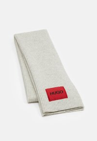 HUGO - ZAFF UNISEX - Scarf - light beige - 1