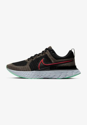 REACT INFINITY RUN FK 2 - Neutral running shoes - ridgerock/chile red/black/green glow