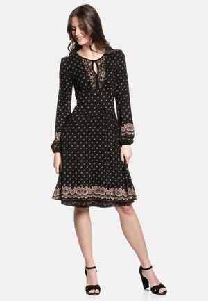 HEIDI IN LOVE - Day dress - schwarz allover