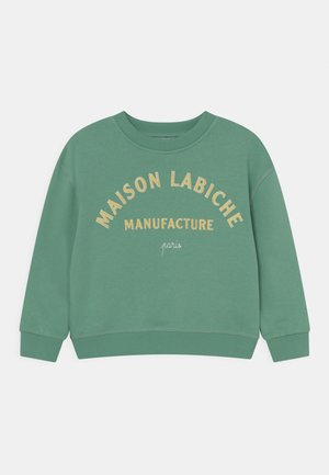 PEREIRE MANUFACTURE UNISEX - Sweatshirt - celadon