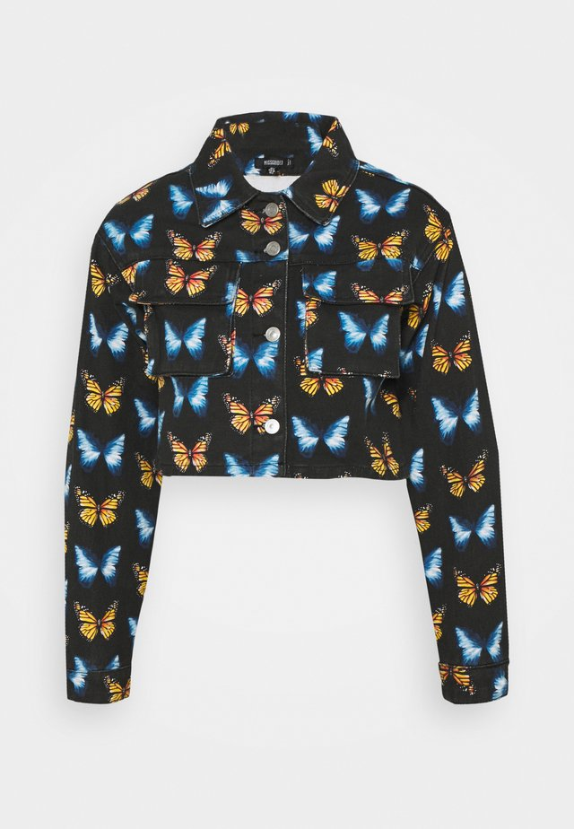 BUTTERFLY PRINT - Blouse - black