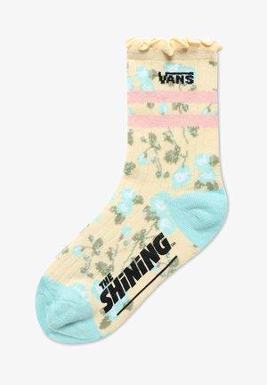 WM VANS X THE SHINING SOCK  - Socks - light yellow