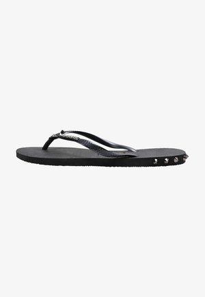 SLIM ROCKY - Pool shoes - black
