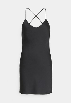 SLIP UPDATE - Day dress - black