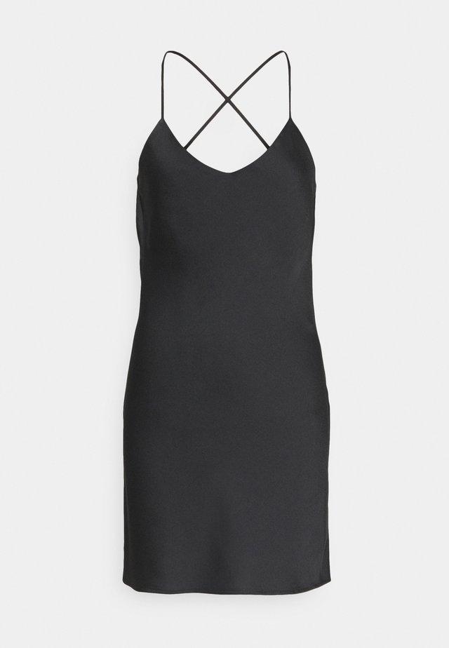 SLIP UPDATE - Robe d'été - black