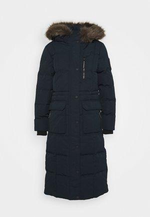 LONGLINE FAUX FUR EVEREST COAT - Winter coat - eclipse navy