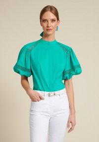Luisa Spagnoli - BAUNY - Button-down blouse - turchese - 0