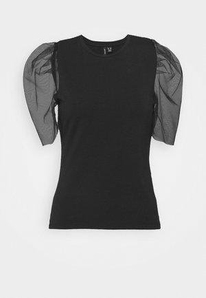 VMPANDA - T-shirt con stampa - black