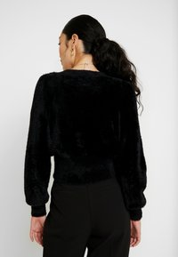 Object Tall - OBJCASRA CARDIGAN - Kofta - black - 2