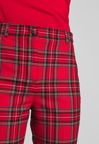 J.CREW - CAMERON IN GOOD TIDINGS - Pantaloni - red/black/multi - 5