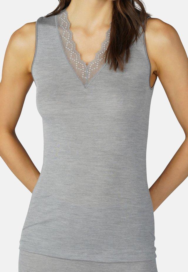 Hemd - grey melange