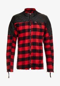 Be Edgy - BEJAMAL - Leichte Jacke - black/red - 3