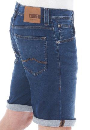 CHICAGO - Denim shorts - denim mid blue