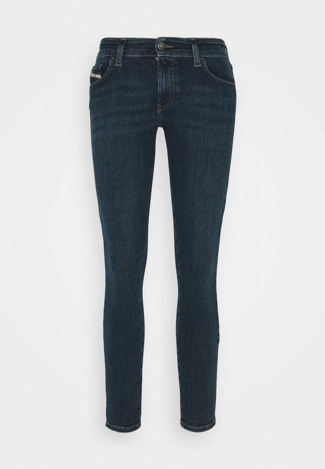 SLANDY LOW - Skinny džíny - dark blue
