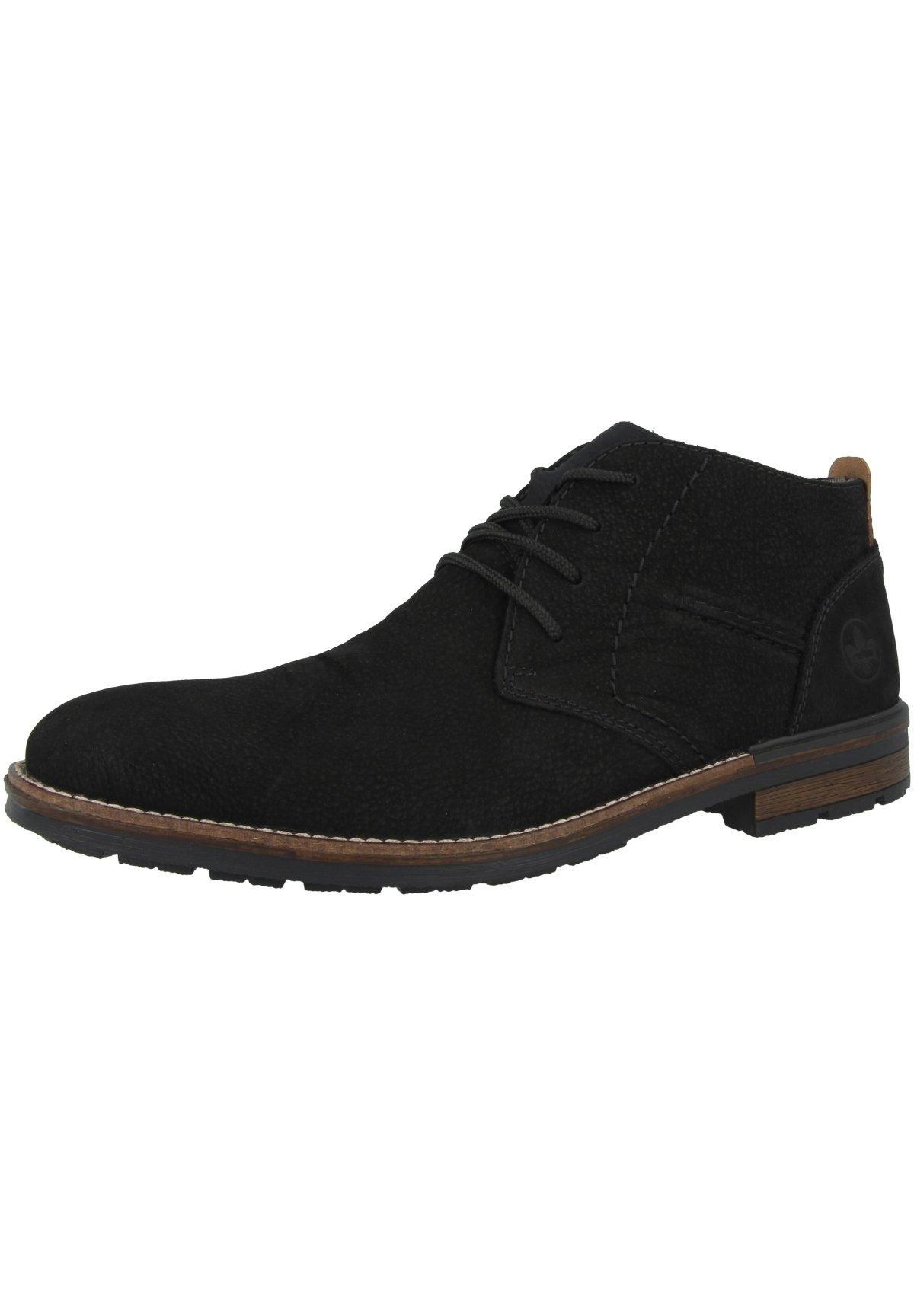 rabat Najtańsze Rieker Eleganckie buty - black | Obuwie męskie 2020 bIH4c