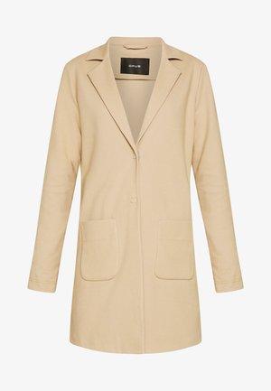 HELEN STRUCTURE - Short coat - beige