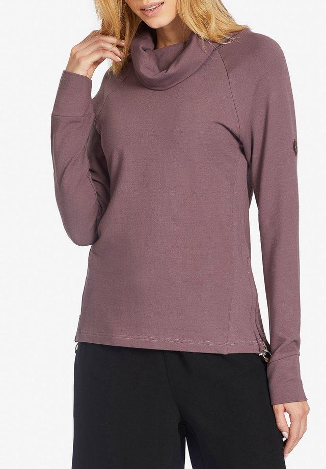 ANJE - Maglietta a manica lunga - purple