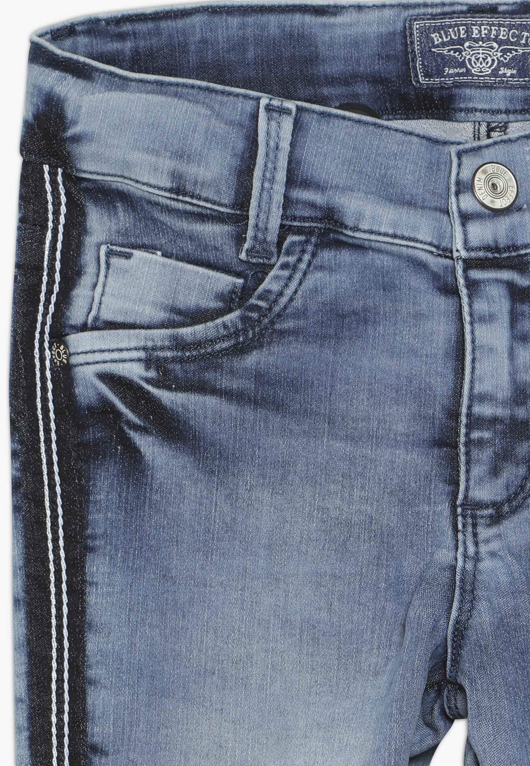 Kids GIRLS STREIFEN CROPPED - Jeans Skinny Fit