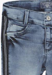 Blue Effect - GIRLS STREIFEN CROPPED - Jeans Skinny Fit - light blue - 3