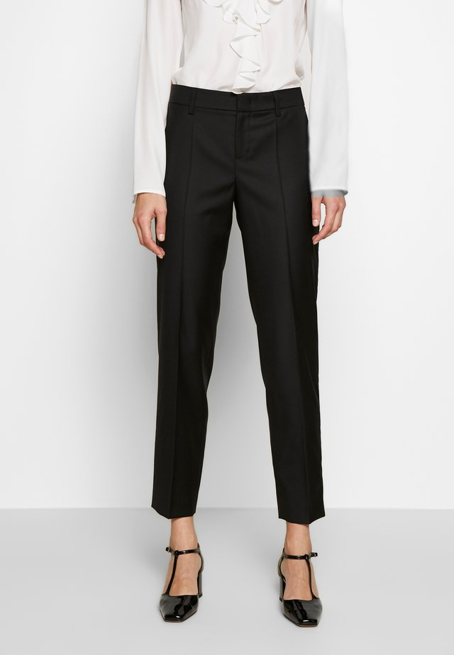 TROUSER - Trousers - black