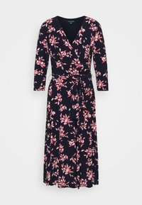 Lauren Ralph Lauren - MATTE DRESS - Day dress - navy/orient - 4