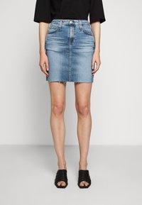 AG Jeans - ERIN - Jupe en jean - blue - 0