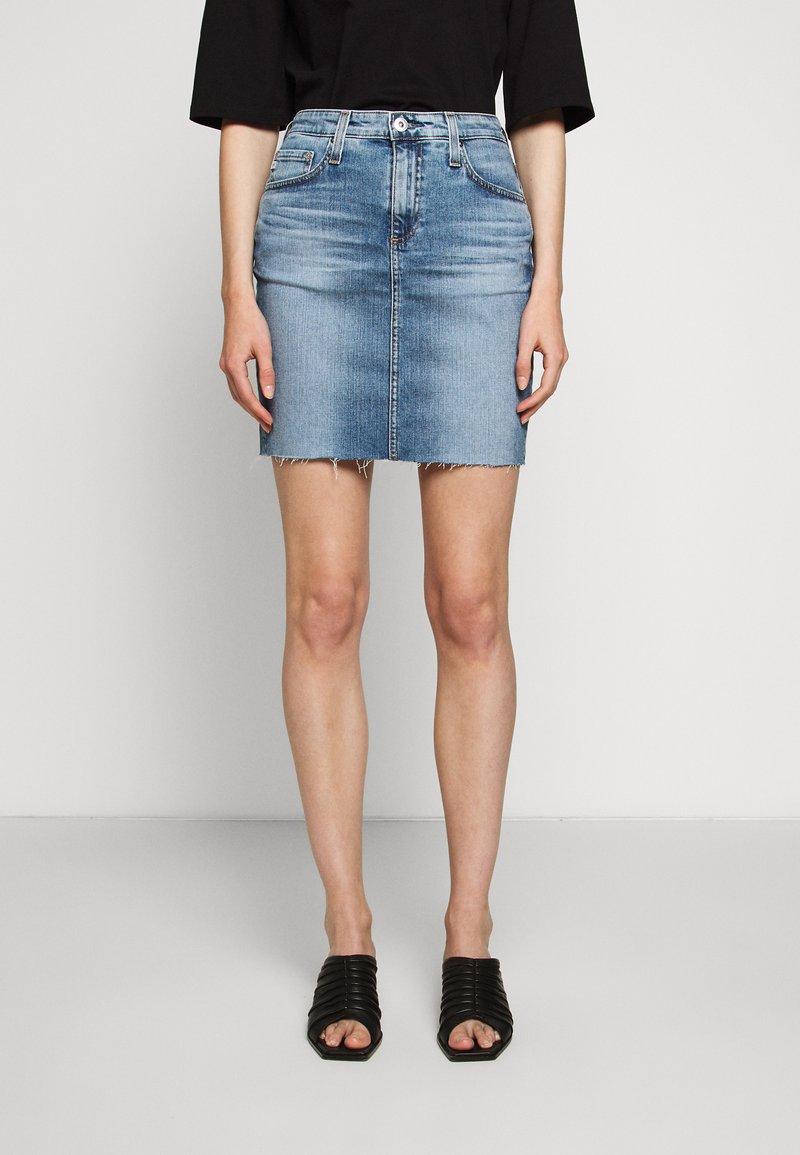 AG Jeans - ERIN - Jupe en jean - blue