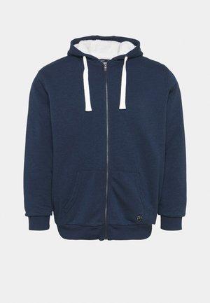 Zip-up sweatshirt - dress blues