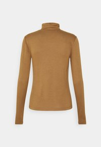 ONLY - ONLLELA LIFE ROLLNECK - Long sleeved top - toasted coconut - 1