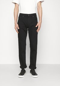 7 for all mankind - Straight leg jeans - black - 0