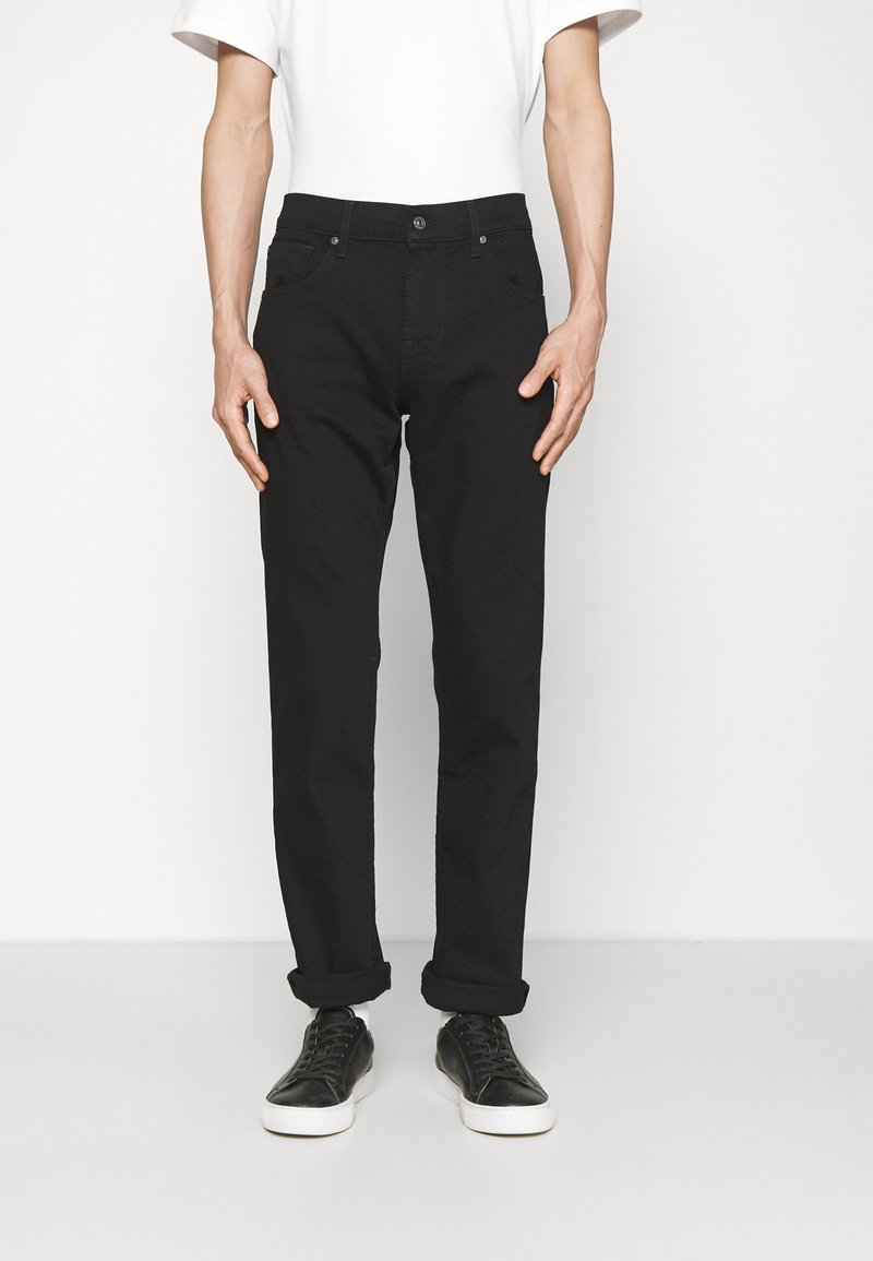 7 for all mankind - Straight leg jeans - black