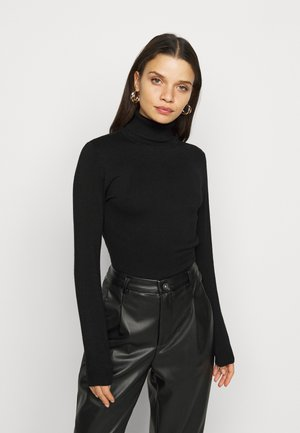 VMGLORY ROLLNECK BLOUSE - Jumper - black