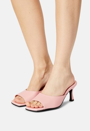SLFASHLEY MULE  - Sandalias - candy pink