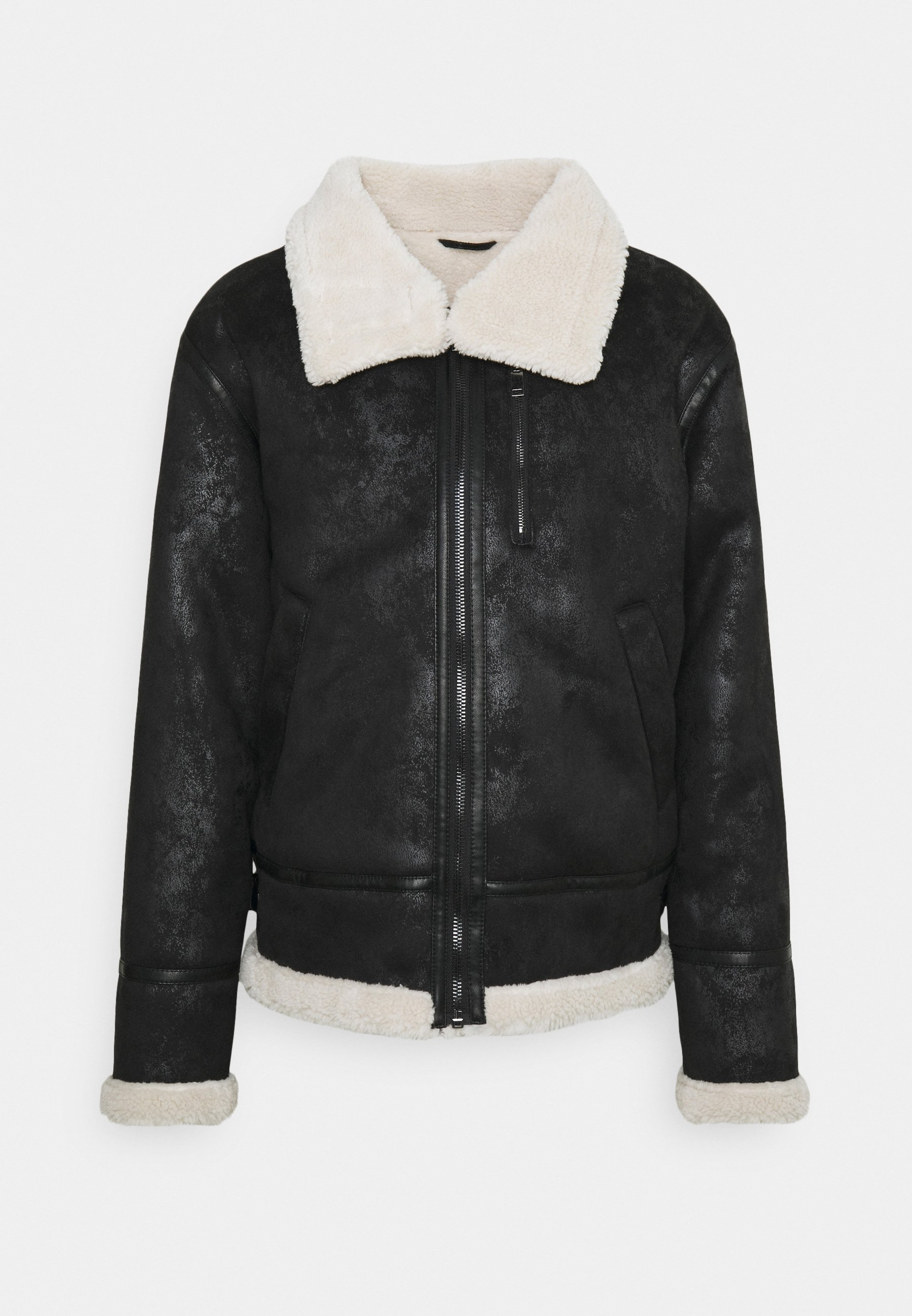 Men REGULAR AVIATOR JACKET - Faux leather jacket