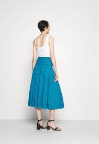 Lauren Ralph Lauren - LUHANNA PEASANT SKIRT - Pleated skirt - summer topaz - 2