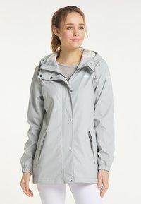Schmuddelwedda - Waterproof jacket - hellgrau - 0