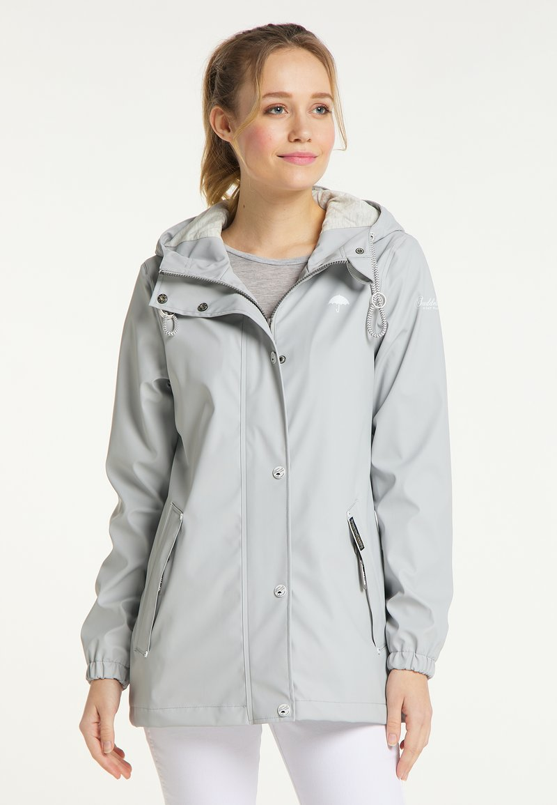 Schmuddelwedda - Waterproof jacket - hellgrau