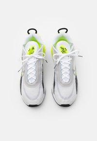 Nike Sportswear - AIR MAX 2090 - Trainers - white/cool grey/volt/black - 3