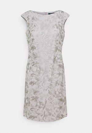 DRESS - Denní šaty - taupe/zinc grey