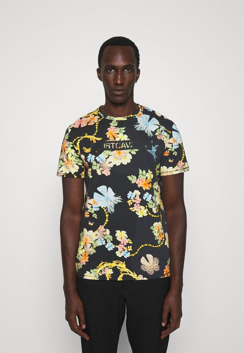 Just Cavalli - T-shirt imprimé - black